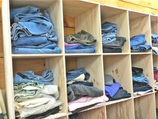Jeans and Jeans in the Attic