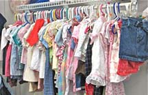 Childrens Clothing at the Store